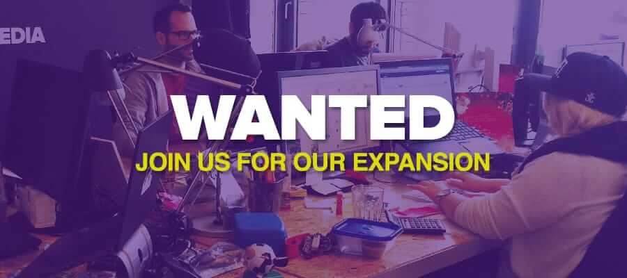 Wanted – Join Us For Our Expansion