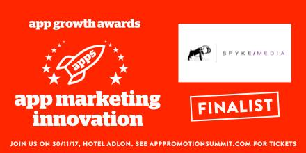 Chatbot Performance Marketing Makes Us a Finalist at the Inaugural App Growth Awards