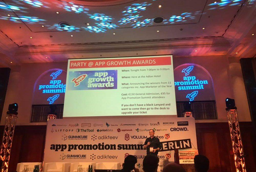 App Growth Awards in Berlin