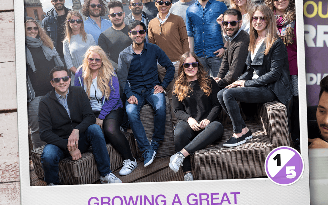5 Years of Spyke: Growing a Great Marketing Team
