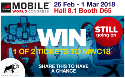 Win Tickets For Mobile World Congress in Barcelona | Spyke Media