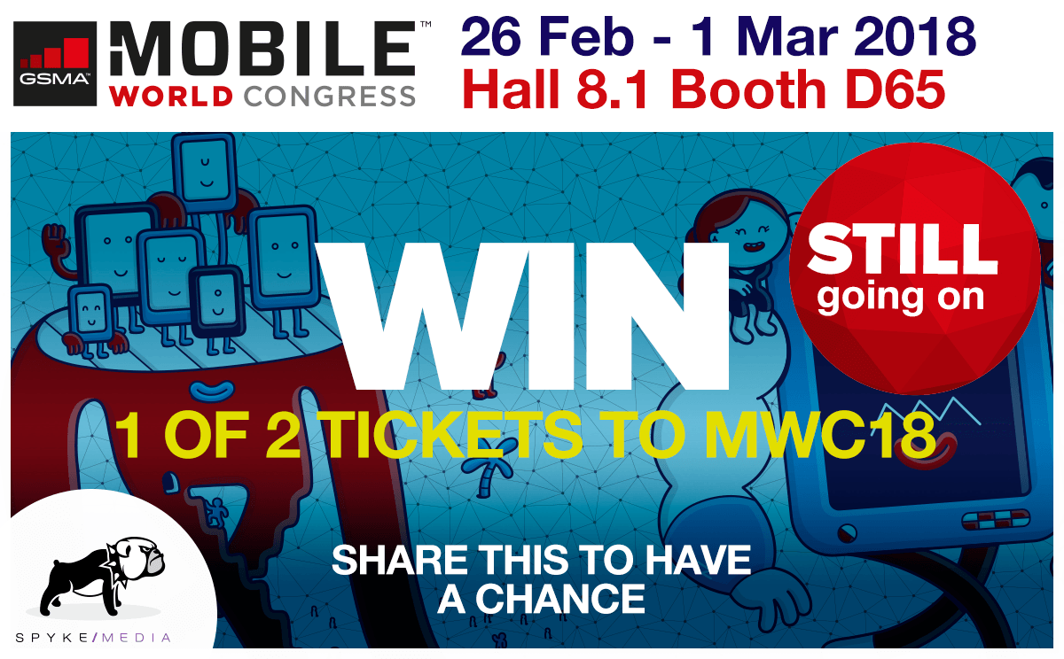 Banner draw mobile world congress 2018