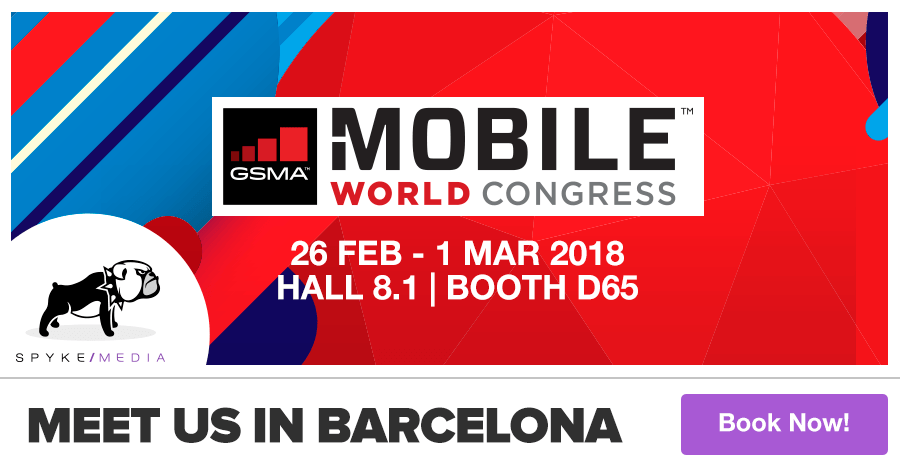 Meet Spyke in Barcelona! We're at Mobile World Congress.
