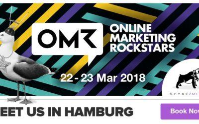 Meet Spyke Media at Online Marketing Rockstars 2018 in Hamburg