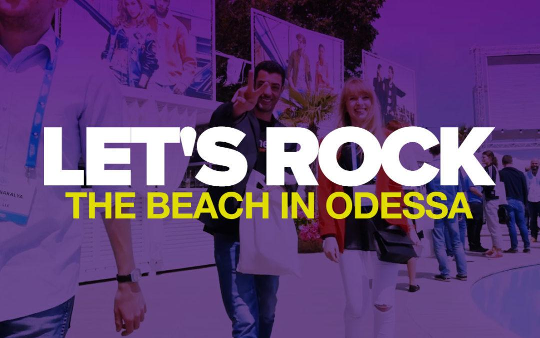 Meet us for talks & cocktails at Mobile Beach Conference