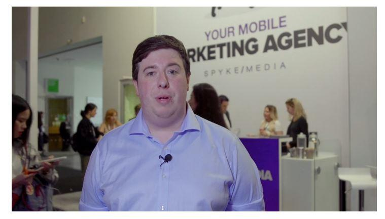 Photo video Spyke Media and adnovation interview at dmexco