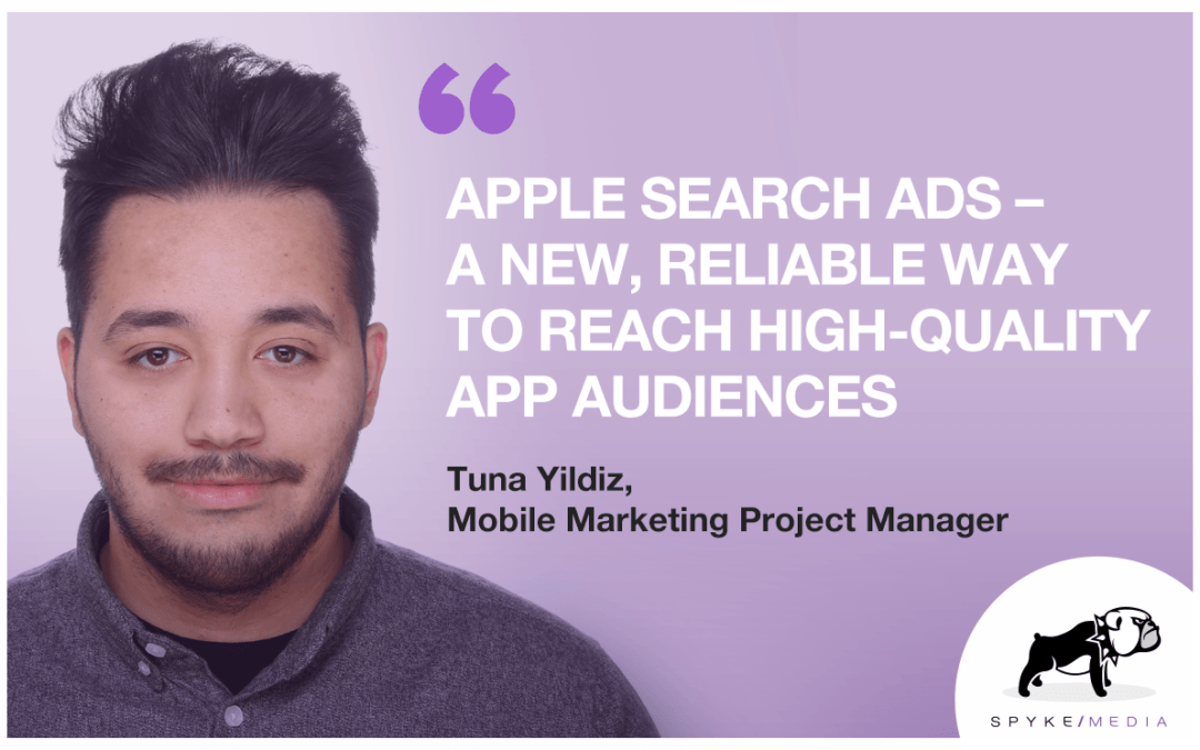 "Apple Search Ads: ""A New, Reliable Way to Reach High-Quality App Audiences"""