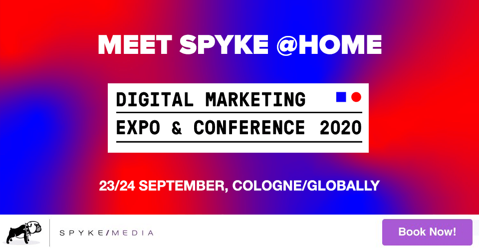 Meet us at dmexco @ home